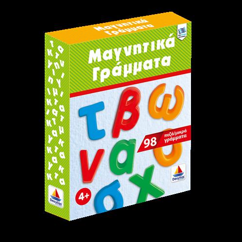 Desyllas Games ζ015-8990-3c μαγν. πεζα γραμματα 98 τεμ.