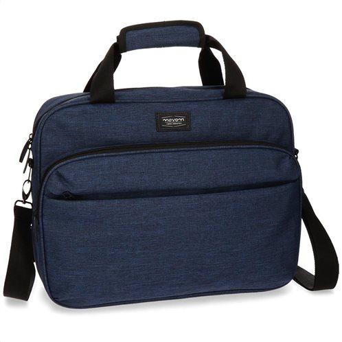 Movom τσάντα ώμου μπλε 3 θέσεων 42x13x29 εκ. σειρά Ottawa