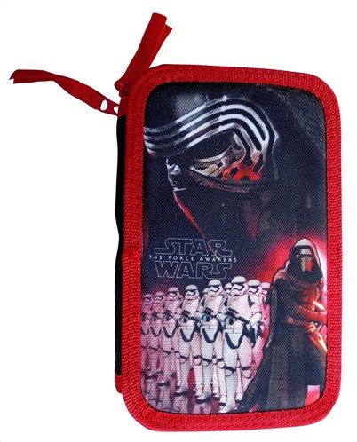 Star Wars Κασετίνα Σκληρή Διπλή Γεμάτη για αγόρια Paxos 53546
