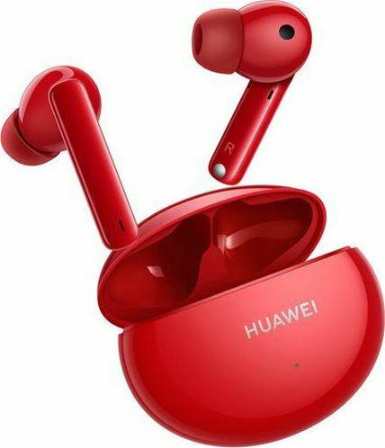 Huawei True Wireless Ακουστικά Freebuds 4i Ceramic Red