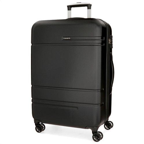 Movom βαλίτσα μεγάλη αυξομειούμενη ABS 78x31x53cm σειρά Galaxy Black
