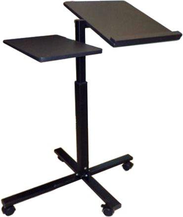 Campus Τραπέζι Laptop Μαύρο