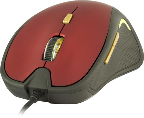 Yenkee Optical Mouse Dakar Red YMS 1010RD
