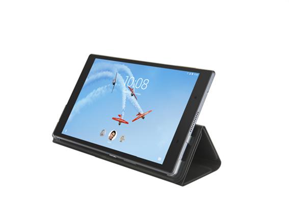 "Lenovo Tab 4  8"" HD Folio Case/Film Black (WW)"