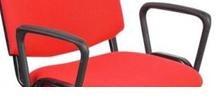 Campus Μπράτσα Για Καρέκλες Επισκέπτου Μαύρα
