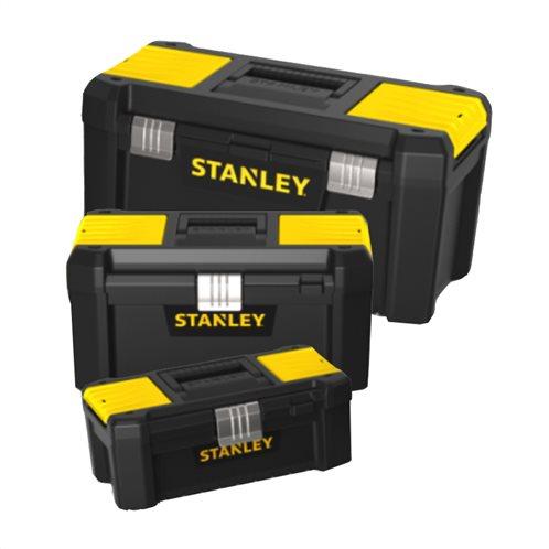 Stanley 19'' Essential εργαλειοθήκη με πλαστικά κουμπώματα STST1-75521