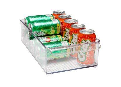 Interdesign Δοχείο Διάφανο για το Ψυγείο 20,5x37x10cm.