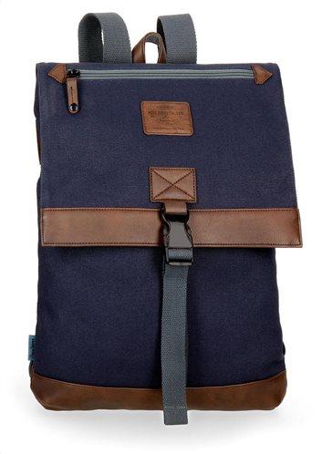 Pepe Jeans Τσάντα πλάτης 27x36x12cm με καπάκι σειρά Arblay