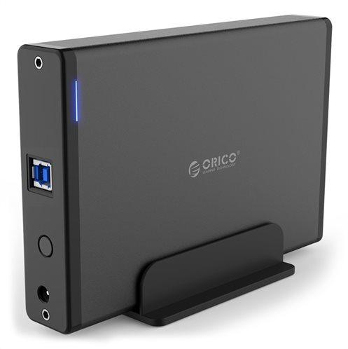 "ORICO εξωτερική θήκη για 3.5"" HDD 7688U3 USB3.0 5Gbps έως 12TB μαύρη"