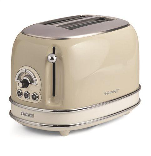 Ariete Φρυγανιέρα Ρετρό Ariete 155/03 Vintage Beige Toaster 800W
