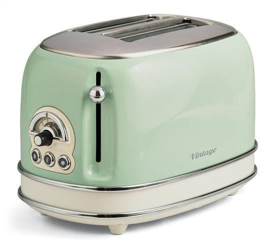 Ariete Φρυγανιέρα Vintage 155/05 Toaster Green 800W