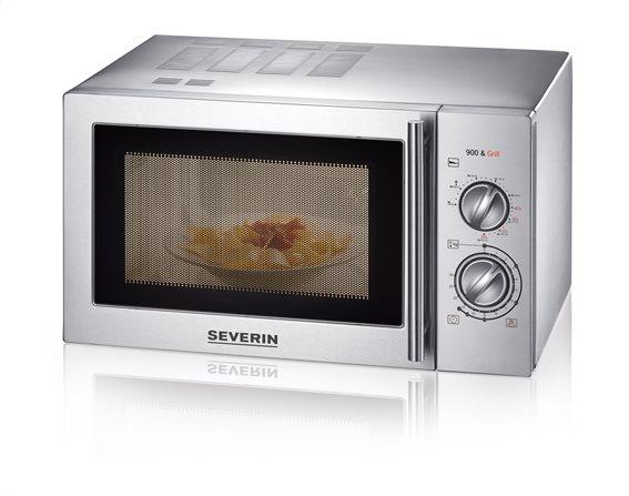 SEVERIN Φούρνος Μικροκυμάτων 22lt, 900W με Grill - 7869