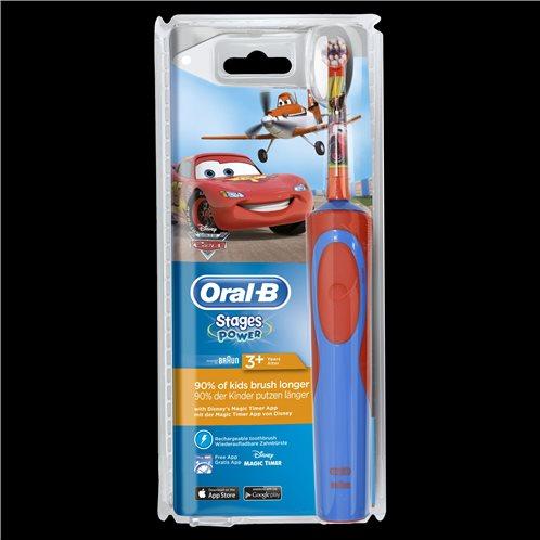 Oral-B Οδοντόβουρτσα Ηλεκτρική Vitality Kids Cars