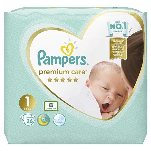 Pampers Premium Care Πάνες Μέγεθος 1 (2-5 kg) - 26 Πάνες-81689693