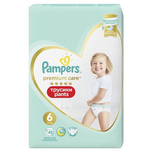 Pampers Premium Care Pants Μέγεθος 6 (15+kg) - 42 Πάνες-Βρακάκι - 81704161