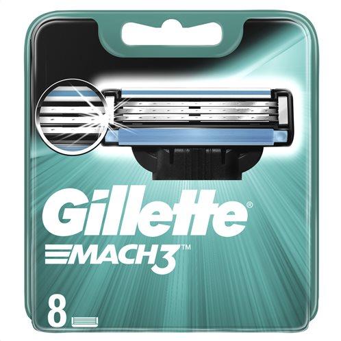 Gillette Mach3Ανταλλακτικές Κεφαλές Ξυριστικής Μηχανής, 8 τμχ - 81717837