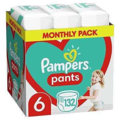 Pampers Pants Μέγεθος 6 (15+ kg) - 132 Πάνες-βρακάκι-81672163