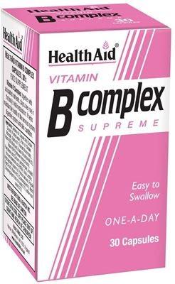 Health Aid B Complex 30 caps