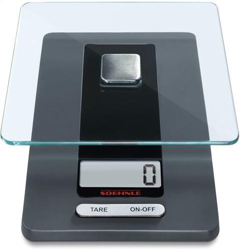 Soehnle Ψηφιακή ζυγαριά κουζίνας Fiesta Black 82-65106