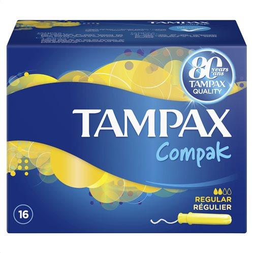 Tampax Compak Regular Ταμπόν Με Απλικατέρ 16 Τεμ-83738984