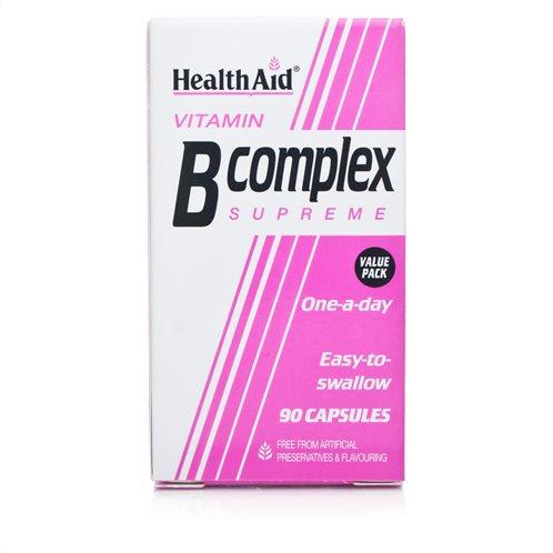 Health Aid B Complex 90 caps