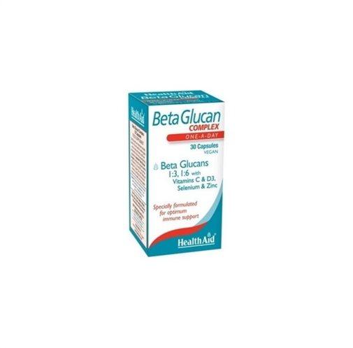 Health Aid Beta Glucan Complex 30 caps