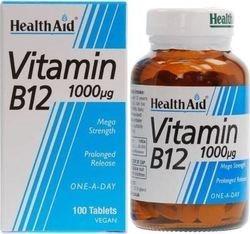 Health Aid Vitamin B12 1000mg 100 tabs