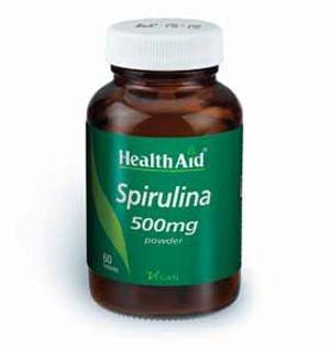 Health Aid Spirulina Σπιρουλίνα 500mg 60 tabs