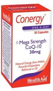 Health Aid Conergy Co-Q10 30mg 30 caps