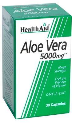 Health Aid Fresh Aloe Vera 5000mg 30caps