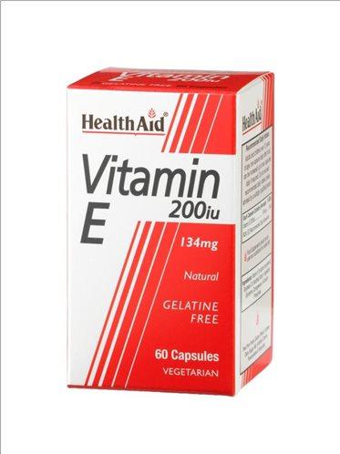 Health Aid Vitamin E 200iu 60 caps