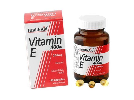 Health Aid Vitamin E 400iu 30 caps