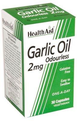 Health Aid Garlic Oil 2mg Άοσμο 30 caps