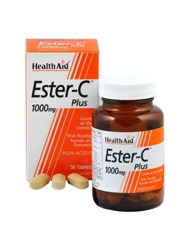 Health Aid Vitamin Ester-C Plus 1000mg 30 tabs
