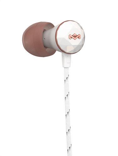 Marley Ακουστικά Ψείρες με Μικρόφωνο in-Ear The House Of Marley Nesta Mic EM-FE033-RS Gold