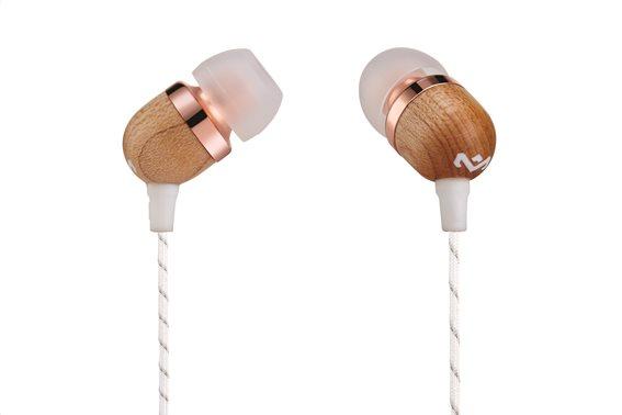Marley Ακουστικά Ψείρες με Μικρόφωνο in-Ear The House Of Marley Smile Jamaica Mic EM-JE041-CP Copper