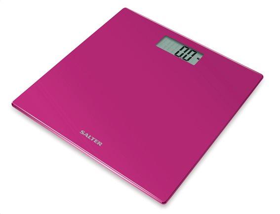 SALTER Ηλεκτρονική Ζυγαριά Μπάνιου 180kg Γυάλινη Φούξια 9069PK3R