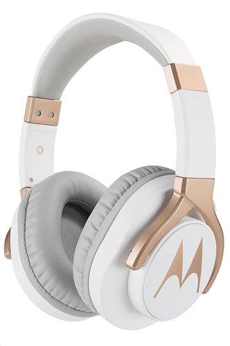Motorola Ακουστικά Κεφαλής Ενσύρματα  Οn-Ear Pulse Bass 200 Λευκά