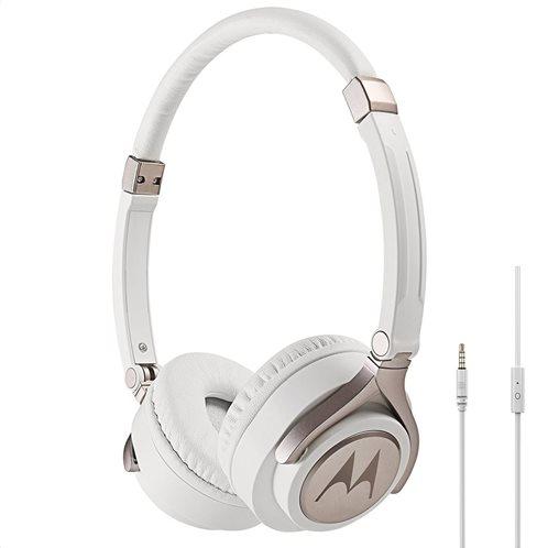 Motorola Ακουστικά  Κεφαλής Ενσύρματα  Οn-Ear Pulse 2 Λευκά