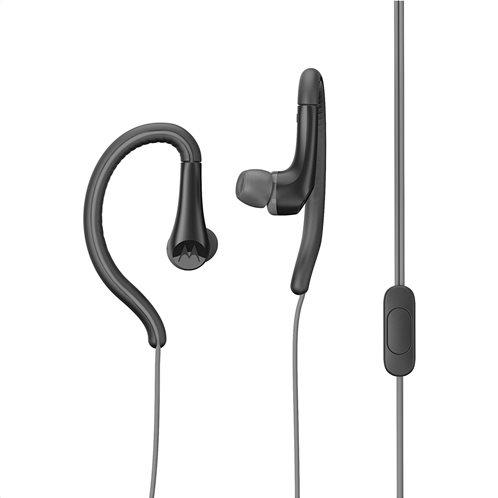 Motorola Ακουστικά  Ενσύρματα In-Ear Earbuds Sport Μαύρα