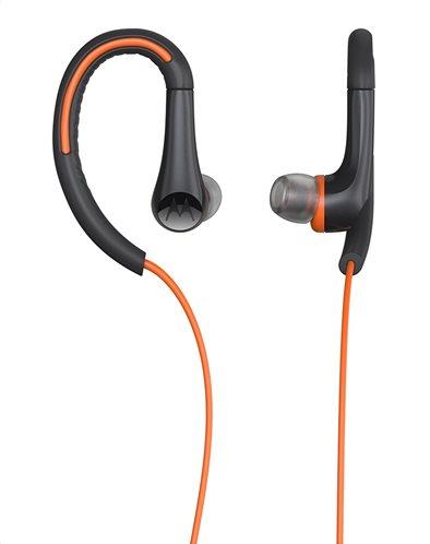 Motorola Ακουστικά  Ενσύρματα In-Ear Earbuds Sport Πορτοκαλί