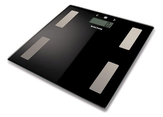 SALTER Ψηφιακή Ζυγαριά με λιπομέτρηση 180kg Μαύρη 9150BK3R