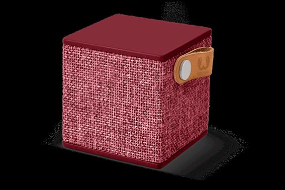 Fresh 'n Rebel Rockbox Cube Fabriq Edition Bluetooth Ηχείο Ruby (Μπορντό)