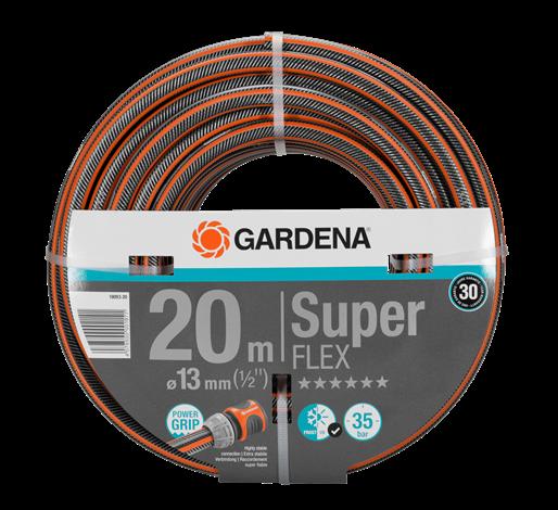 "Gardena Λάστιχο Premium SuperFlex 1/2""- 20m"