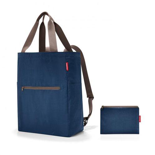 Reisenthel τσάντα χειρός πλάτης mini maxi 2 in 1 Dark Blue