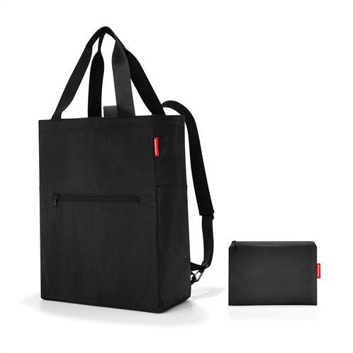 Reisenthel τσάντα χειρός πλάτης mini maxi 2 in 1 Black