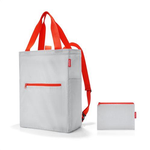 Reisenthel τσάντα χειρός πλάτης mini maxi 2 in 1 Light Grey