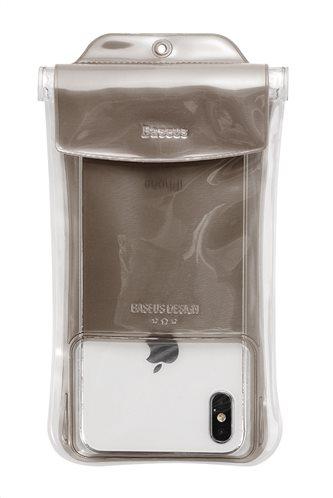 "BASEUS αδιάβροχη θήκη κινητού ACFSD-C01 έως 7"" IPX8 μαύρη"