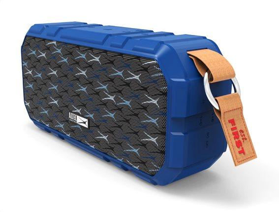 ALTEC LANSING φορητό ηχείο X-Wild 10W αδιάβροχο power bank μπλε