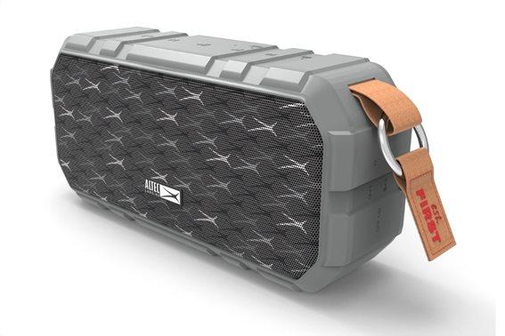 ALTEC LANSING φορητό ηχείο X-Wild 10W αδιάβροχο power bank γκρι